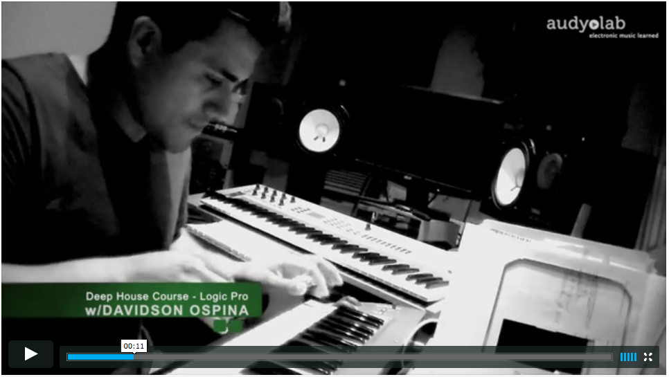Learn to produce Deep House music w/ producer Davidson Ospina